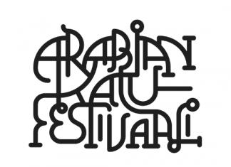 ArabianKatuFestivaali-logo-musta